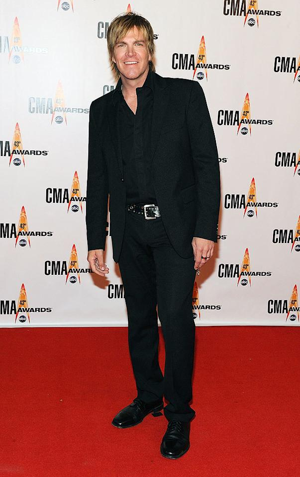 "Jack Ingram  Grade: C-  Even the Texas native's Kate Gosselin-inspired 'do couldn't spice up his boring black getup. Frederick Breedon/<a href=""http://www.gettyimages.com/"" target=""new"">GettyImages.com</a> - November 11, 2009"