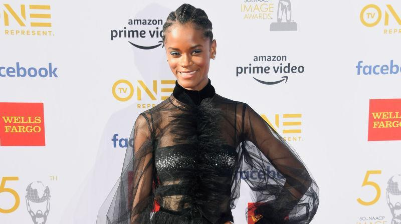 Letitia Wright attends the 50th NAACP Image Awards at Dolby Theatre on March 30, 2019, in Hollywood, California.
