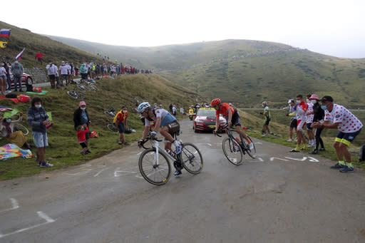 Pinot's hopes vanish as Peters wins Tour stage in Pyrenees