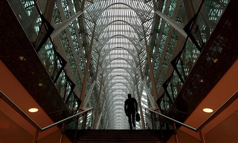 The Santiago Calatrava-designed Brookfield Place office complex in Toronto.