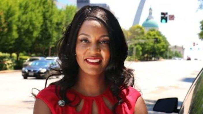 Tishaura Jones won the St. Louis mayor's race Tuesday, becoming the first Black woman to ever hold the office. (Twitter)