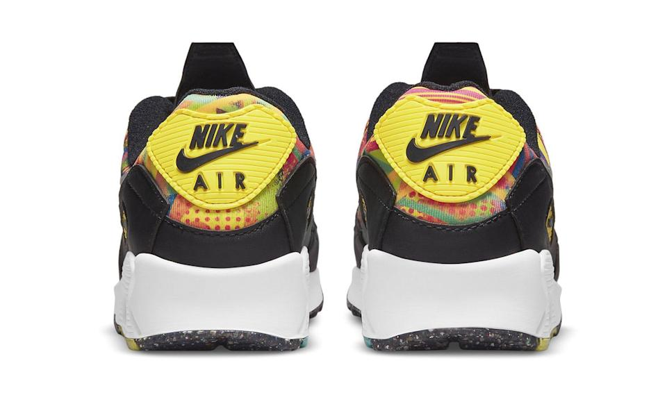 """The heel's view of the Nike Air Max 90 """"Familia."""" - Credit: Courtesy of Nike"""
