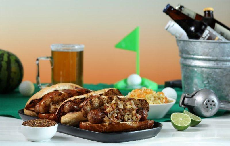 """<p>Boiling your brats in beer before grilling infuses them with tons of summertime flavor, but this recipe flips that technique on its head. In case you were wondering, this isn't your average grilling recipe; it also pairs with a homemade sauerkraut and mustard.</p> <p><a href=""""https://www.thedailymeal.com/bratwurst-1-recipe?referrer=yahoo&category=beauty_food&include_utm=1&utm_medium=referral&utm_source=yahoo&utm_campaign=feed"""" rel=""""nofollow noopener"""" target=""""_blank"""" data-ylk=""""slk:For the Beer-cooked Bratwurst With Sweet Onions and Homemade Condiments recipe, click here."""" class=""""link rapid-noclick-resp"""">For the Beer-cooked Bratwurst With Sweet Onions and Homemade Condiments recipe, click here.</a></p>"""