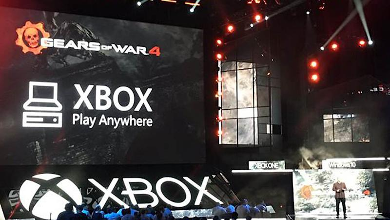 how to access xbox play anywhere