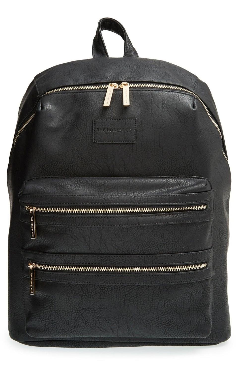 <p>No one will suspect this <span>The Honest Company City Backpack</span> ($111, originally $150) is actually a diaper bag. </p>