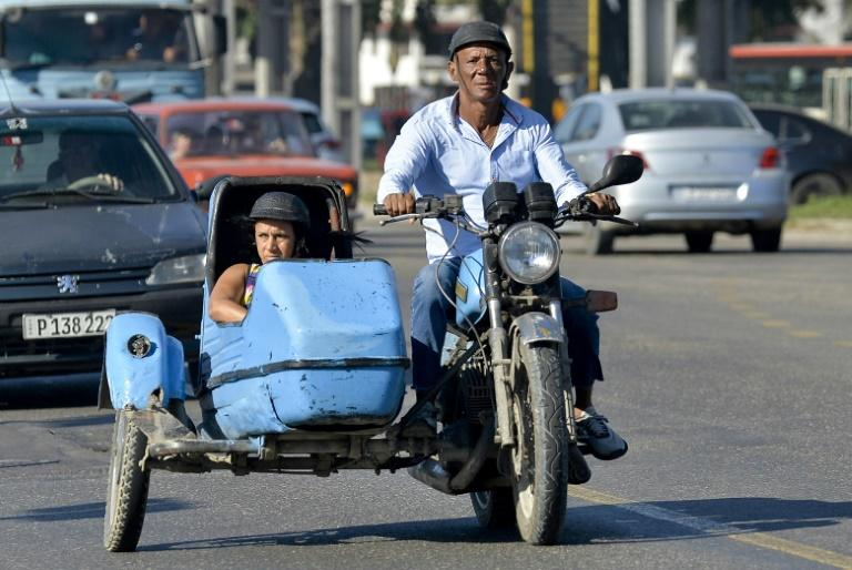 Havana is a living museum for old motorcycles, with motorbikes with sidecars made in Russia, Czechoslovakia and East Germany dating from when Cuba was in the Soviet Union's orbit