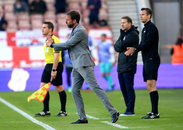 Gareth Southgate leads England into their final warm-up friendly on Sunday