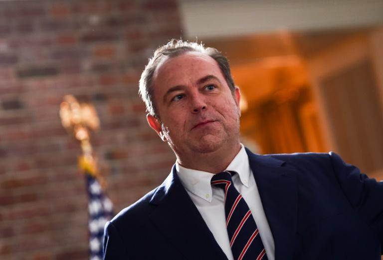 Newsmax founder and CEO Chris Ruddy (pictured 2018) says that if Joe Biden is still the winner once the election results are confirmed and Donald Trump's legal appeals are through, then the president should concede