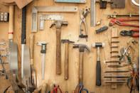 "<p>There are usually at least a few old tools available at garage sales, and although they probably don't look like treasures they just might be. Antique and rare tools can hold enormous value, like a wrench for the John Deere Dain all-wheel drive, four-cylinder, three-wheel tractor. <a href=""https://www.familyhandyman.com/woodworking/these-20-old-tools-are-worth-big-bucks/"" rel=""nofollow noopener"" target=""_blank"" data-ylk=""slk:In 2009"" class=""link rapid-noclick-resp"">In 2009</a>, one sold for $15,000.</p>"