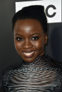 <p>Danai Gurira looks spectacular in every natural style she dons—but this three-dimensional cut has to be our favourite. Pro tip: play up your hair's angles, which will in turn play-up your features' angles. </p>