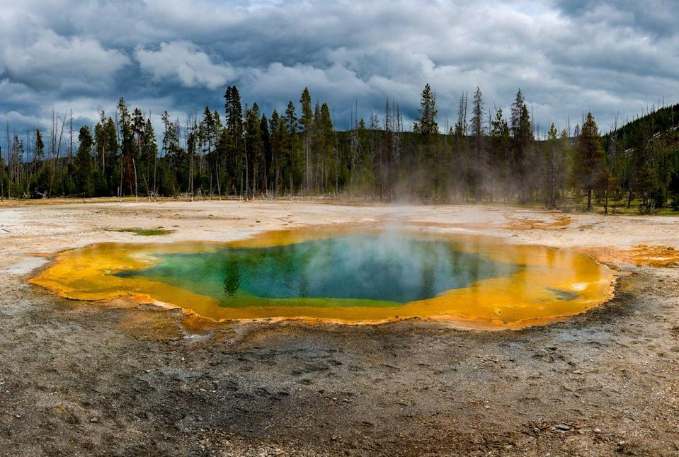 <p>The steaming pools at Yellowstone National Park in Wyoming are an ever-present reminder of the volcano that lies beneath // May 2016</p>
