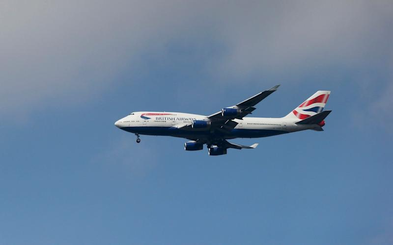 British Airways  - Reuters