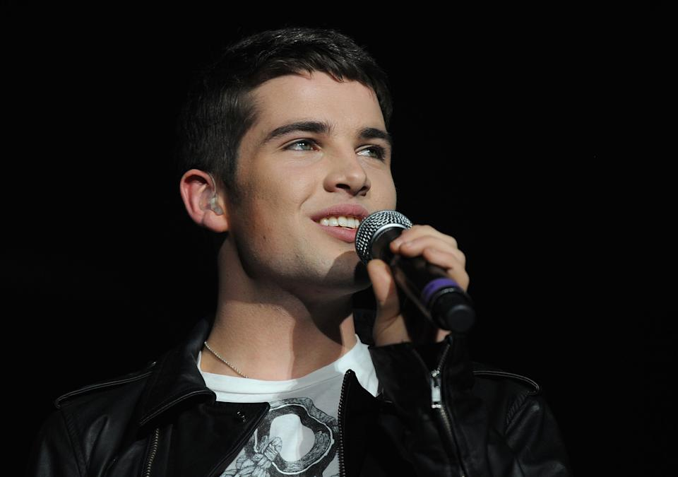 Joe McElderry has continued with his music career and worked on the stage. (Photo by Brian Rasic/Getty Images)
