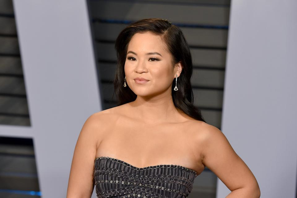 Kelly Marie Tran at the <em>Vanity Fair</em> Oscar Party on March 4. (Photo: Presley Ann/Patrick McMullan via Getty Images)