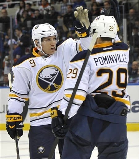 Sabres win as Miller passes Hasek for team record