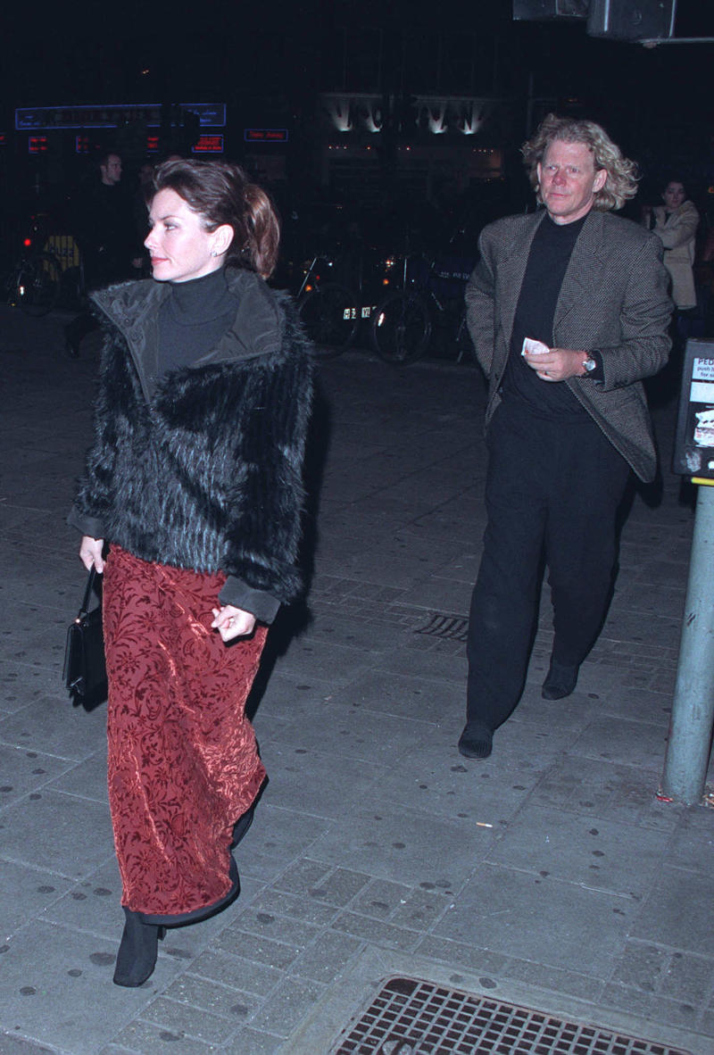 Shania Twain and Robert Lange at event in 2000
