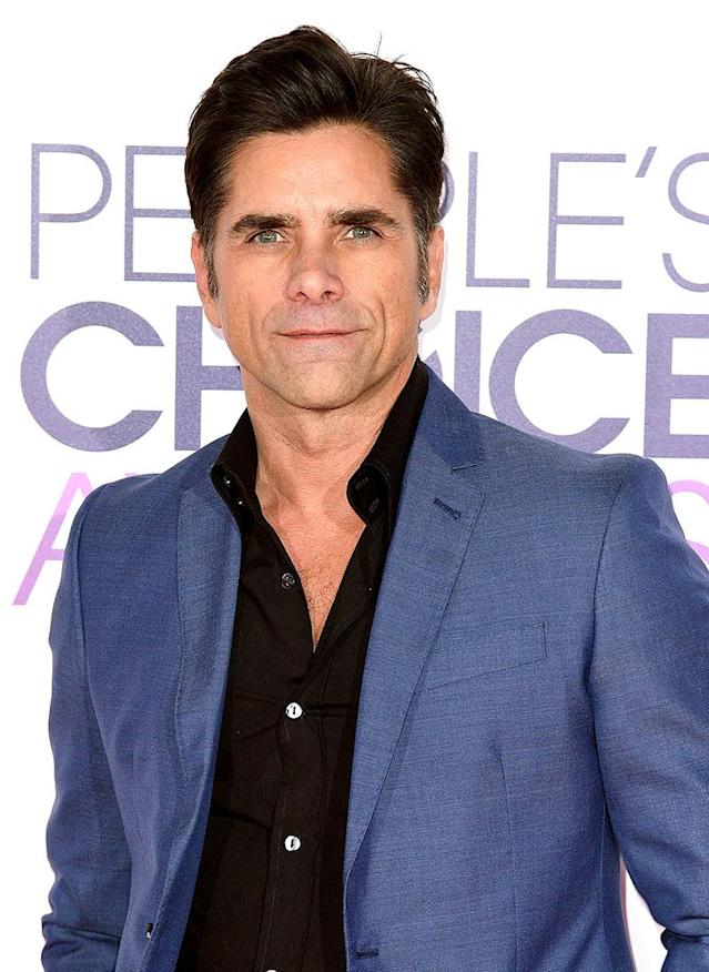 "<p>A Michigan couple attempted to extort $680,000 from the <i>Full House</i> star by alleging they had photographs showing him with cocaine and strippers. Stamos <a href=""http://people.com/crime/john-stamos-blasts-lying-couple-who-attempted-to-extort-him/"" rel=""nofollow noopener"" target=""_blank"" data-ylk=""slk:vehemently denied the allegations"" class=""link rapid-noclick-resp"">vehemently denied the allegations</a> and took the blackmailers to court. He tweeted, ""There was no hot tub, no drugs, no nudity and nothing sexual in nature involved in my friendship with this woman. They lied about everything from a pregnancy to compromising photos."" The pair — who later admitted no such photos existed — were both sentenced to four years in prison in 2010. (Photo: C Flanigan/Getty Images) </p>"