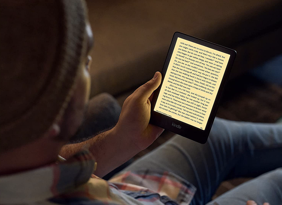 The new 2021 Kindle paperwhite is available from 27 October (Amazon)