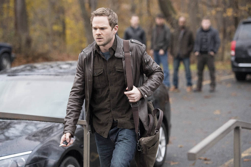 "Agent Weston (Shawn Ashmore) takes a break from work in the ""Welcome Home"" episode of ""The Following."""