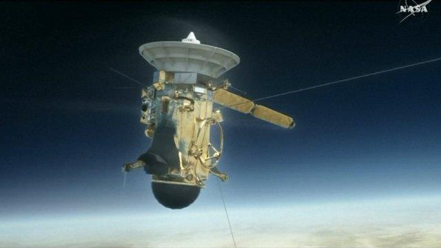 NASA spacecraft Cassini prepares for final mission
