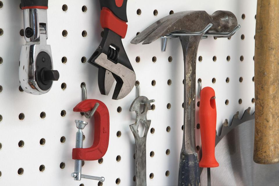 """<p>If you're like us, you're probably using your garage for anything but a place to park your ride. And that's because it's become a warehouse for all of the stuff you can't find room for in or around your home, like <a href=""""https://www.countryliving.com/home-maintenance/organization/g29107386/toy-organizer-ideas/"""" rel=""""nofollow noopener"""" target=""""_blank"""" data-ylk=""""slk:toys"""" class=""""link rapid-noclick-resp"""">toys</a>, <a href=""""https://www.countryliving.com/home-maintenance/cleaning/a27534079/castile-soap-uses/"""" rel=""""nofollow noopener"""" target=""""_blank"""" data-ylk=""""slk:cleaning supplies"""" class=""""link rapid-noclick-resp"""">cleaning supplies</a>, <a href=""""https://www.countryliving.com/gardening/garden-ideas/g4281/garden-accessories/"""" rel=""""nofollow noopener"""" target=""""_blank"""" data-ylk=""""slk:gardening equipment"""" class=""""link rapid-noclick-resp"""">gardening equipment</a>, and tools. Getting the space clean and orderly has probably been on your to-do list for ages, which is why we searched far and wide for the best garage storage ideas. Whether you're looking to give the area a whole top-to-bottom makeover, or just want a convenient, tidy method to sock away your family's bikes, we have what you need. </p><p>From clever concepts for toy storage (why not rope those basketballs in with a bungee cord?) to must-have gadgets that make packing away bunches of boxes no problem, we've lined up ideas that will help eradicate the very worst clutter. Feel like going a bit farther and DIY-ing a total makeover? We've included projects that will make your garage the envy of the neighborhood. And after you've wrapped everything up, if you feel up to moving on to your house be sure to check out <a href=""""https://www.countryliving.com/home-maintenance/organization/g2505/best-organizing-tips/"""" rel=""""nofollow noopener"""" target=""""_blank"""" data-ylk=""""slk:The Best Tips to Get Your Home Super Organized"""" class=""""link rapid-noclick-resp"""">The Best Tips to Get Your Home Super Organized</a>.<br></p>"""