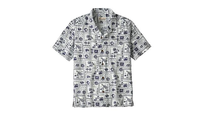 "<p>Men's Limited Edition Pataloha Shirt, $129, <a href=""http://www.patagonia.com/product/mens-limited-edition-pataloha-shirt/52550.html?dwvar_52550_color=OPIC&cgid=root#q=pataloha&lang=en_US&start=1"" rel=""nofollow noopener"" target=""_blank"" data-ylk=""slk:patagonia.com"" class=""link rapid-noclick-resp"">patagonia.com</a> </p>"