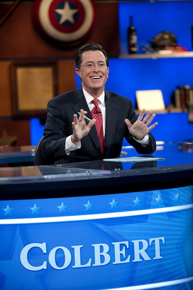 """The Colbert Report"" is nominated for Outstanding Variety, Music or Comedy Series."