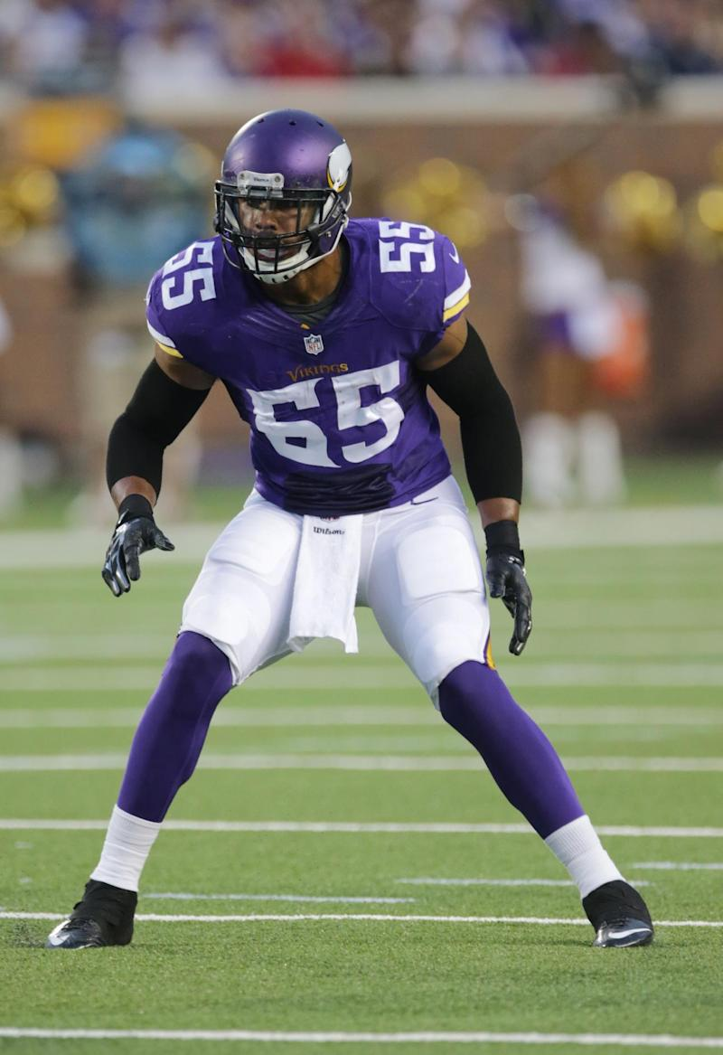 Barr set high for other Vikings rookie Barr
