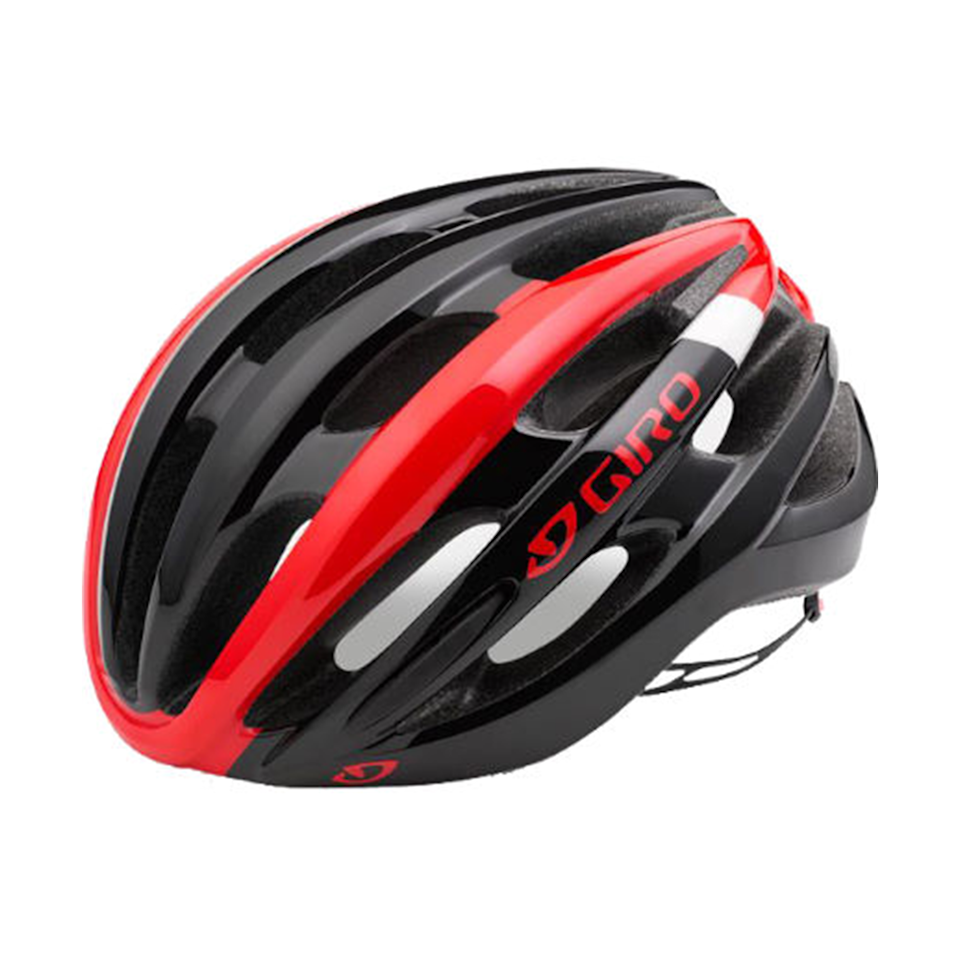 """<p><strong>How much? </strong>£53.99<br></p><p>This versatile bike helmet includes a lot of the higher-end design elements of Giro's premium helmets (such as 'Wind Tunnel' ventilation for breathability) at a more affordable price. A lightweight, aerodynamic, sleek design ensures this helmet is comfortable for road biking and longer rides.</p><p> The brand's 'Roc Loc 5 System' offers an easy way to customise the helmet with a dial to make micro-adjustments and to adjust the vertical fit, too.</p><p><strong>Sizing: </strong>Unisex, 51-59cm</p><p><a class=""""body-btn-link"""" href=""""https://go.redirectingat.com?id=127X1599956&url=https%3A%2F%2Fwww.wiggle.co.uk%2Fgiro-foray-helmet%2F&sref=https%3A%2F%2Fwww.womenshealthmag.com%2Fuk%2Fgym-wear%2Fg32808172%2Fbest-bike-helmets%2F"""" target=""""_blank"""">SHOP NOW</a></p>"""