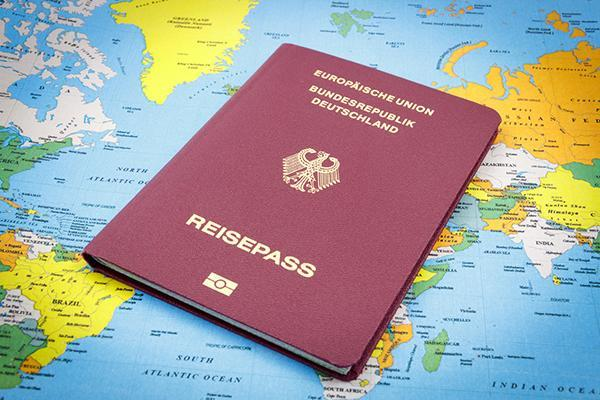 The German reisepass is the European passport that offers the widest choice of visa-free destinations.