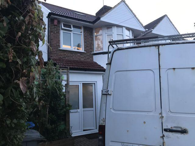 The three-bedroom house in Winchester Avenue, Queensbury (Brent Council/PA)