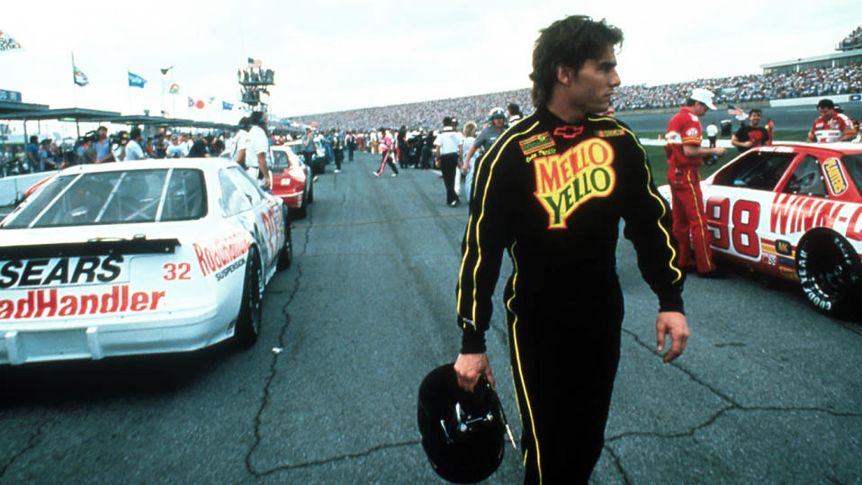 Tom Cruise in Days of Thunder (Paramount Pictures).
