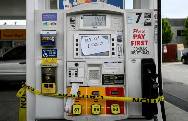 More than half of the gas stations in the US state of Virginia had run dry after a wave of panic buying, according to GasBuddy data