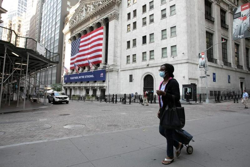 Most of Wall Street wilts amid worries on virus, economy