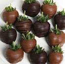 """<p><strong>GourmetGiftBaskets.com</strong></p><p>gourmetgiftbaskets.com</p><p><strong>$29.99</strong></p><p><a href=""""https://go.redirectingat.com?id=74968X1596630&url=https%3A%2F%2Fwww.gourmetgiftbaskets.com%2FDark-And-Milk-Chocolate-Covered-Strawberries.asp&sref=https%3A%2F%2Fwww.oprahmag.com%2Flife%2Ffood%2Fg33980079%2Fbest-food-gifts%2F"""" rel=""""nofollow noopener"""" target=""""_blank"""" data-ylk=""""slk:Shop Now"""" class=""""link rapid-noclick-resp"""">Shop Now</a></p><p>Classic chocolate covered strawberries are a delectable treat for almost any occasion—birthdays, graduations, thank you's, holidays, or even just to say """"I love you."""" Plus, the mix of milk and dark drizzle add special flair to this mail order good gift.</p>"""