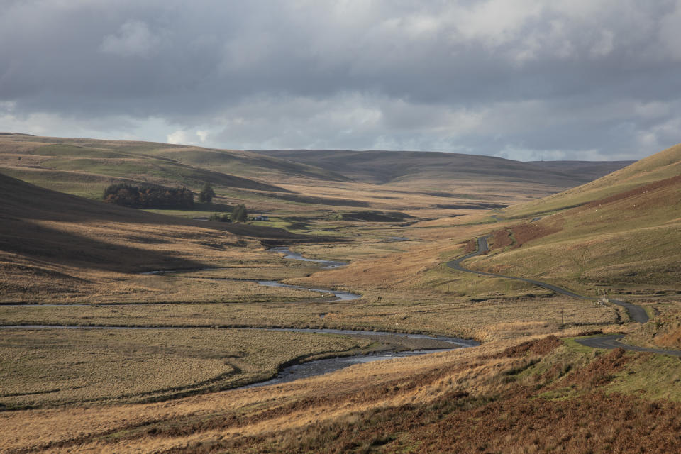 The unspoilt landscape of the Elan Valley (Getty Images)