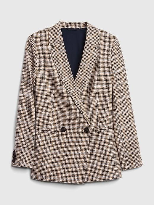 <p>This <span>Gap Double-Breasted Blazer</span> ($74, originally $148) would look great over a little black dress.</p>