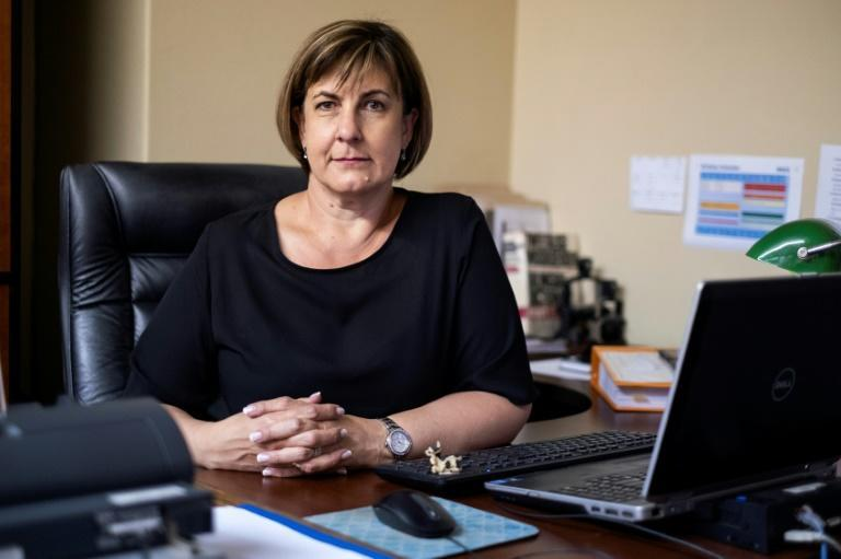 Newspapers regularly quote Myburgh at court proceeedings, where her psychological assessments of convicted killers influence their sentencing (AFP/WIKUS DE WET)