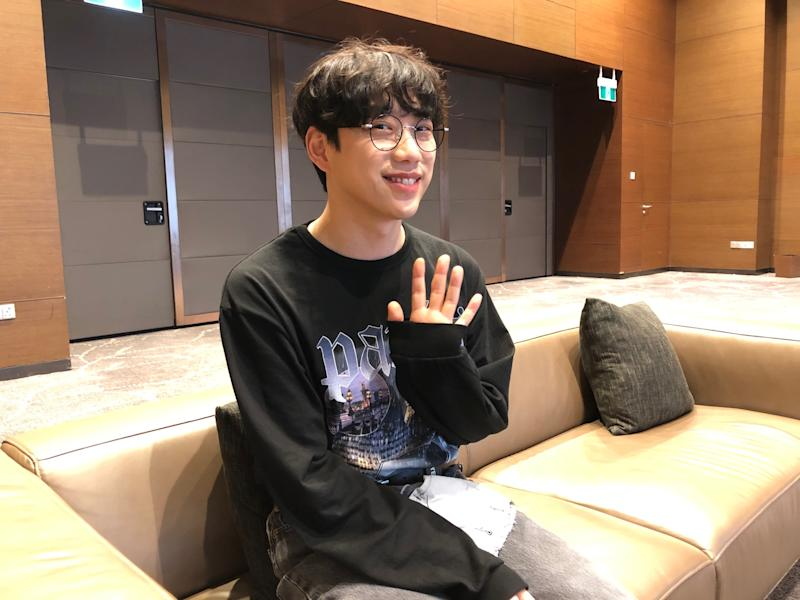 Yahoo Lifestyle Singapore meets Kwon Jung-Yeol before his concert on 18 November. (PHOTO: Reta Lee/Yahoo Lifestyle Singapore)