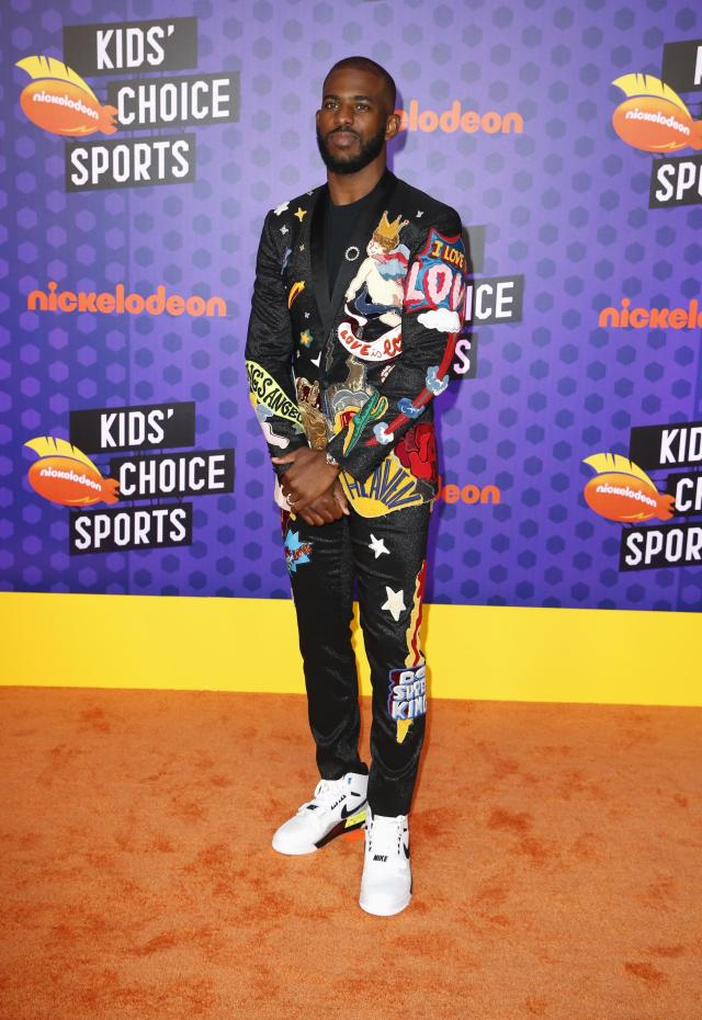 Kids Choice Sport Awards 2018 – Arrivals – Los Angeles, California, U.S., 19/07/2018. Houston Rockets NBA basketball player Chris Paul. REUTERS/Danny Moloshok