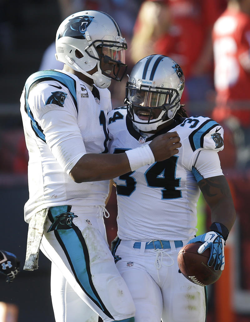Panthers winning with ball control, defense