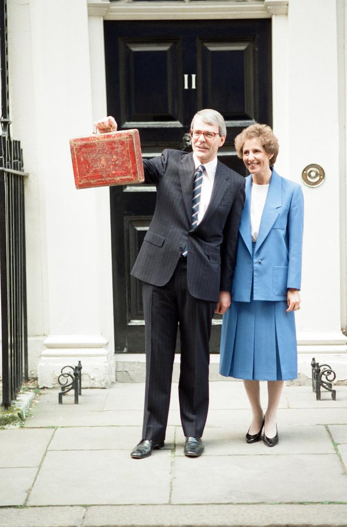 During her time at Number 10, Dame Norma Major was committed to her charity work and wrote two books during her time behind the infamous black door. In 1999, she was created a Dame Commander of the Order of the British Empire in the Queen's Birthday Honours for her charitable efforts. <em>[Photo: Getty]</em>