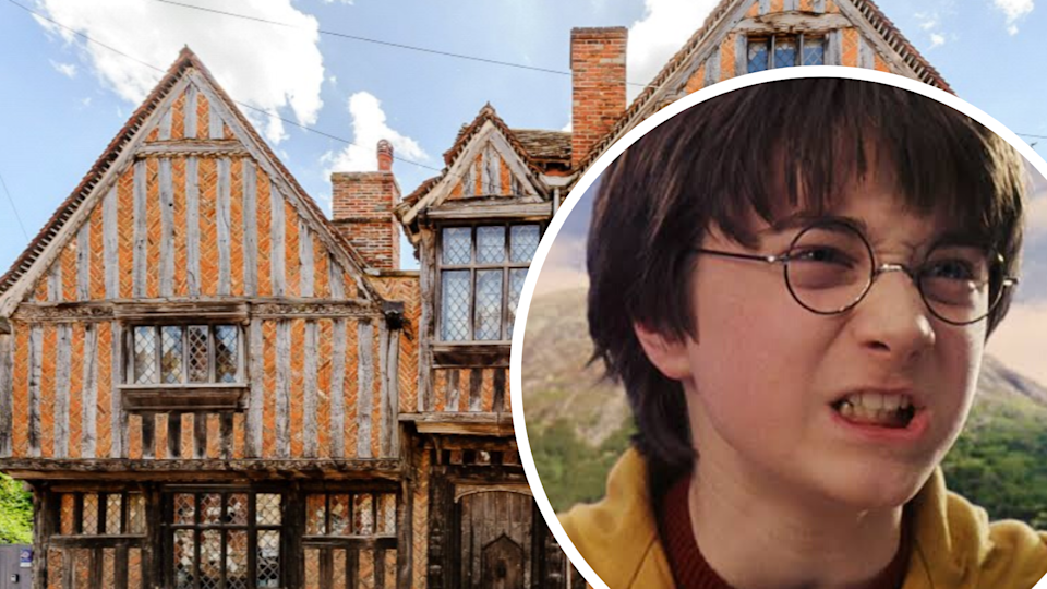 Owners have been left frustrated after their 'Harry Potter' home has refused to sell. Images: Carter Jonas, Warner Bros.