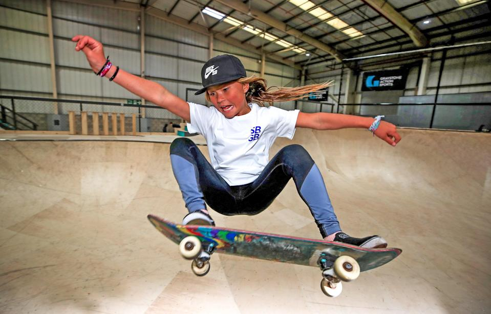 Sky Brown will become Britain's youngest summer Olympian (Peter Byrne/PA)