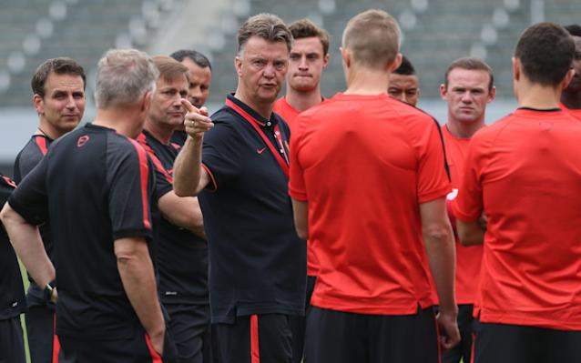 <span>Van Gaal was critical of a recent US tour</span> <span>Credit: Getty Images </span>