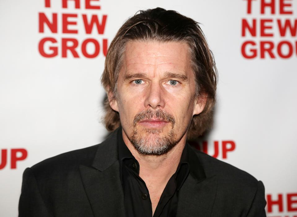Ethan Hawke reflects on River Phoenix's influence and working with Denzel Washington in a new interview. (Photo: Bruce Glikas/WireImage)