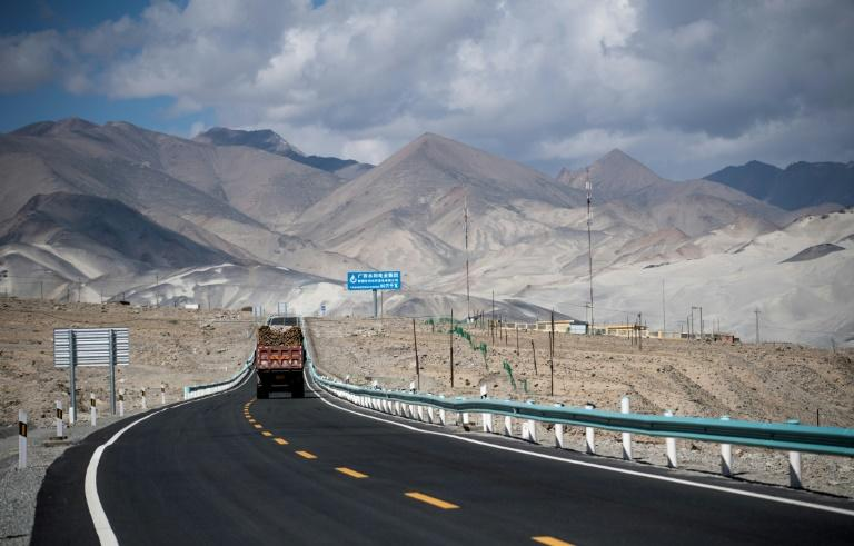 The China-Pakistan Friendship Highway runs over 1,300 kilometres (800 miles) from the far western Chinese city of Kashgar through the world's highest mountain pass and across the border