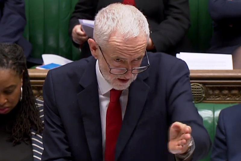 British opposition Labour leader Jeremy Corbyn has said he might come out in support this week of a Labour proposal to have a new referendum after Brexit is postponed (AFP Photo/PRU)