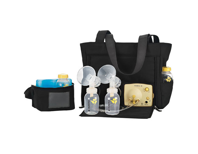 Medela Pump In Style Double Electric Breast Pump with Tote Bag (Photo via Best Buy Canada)