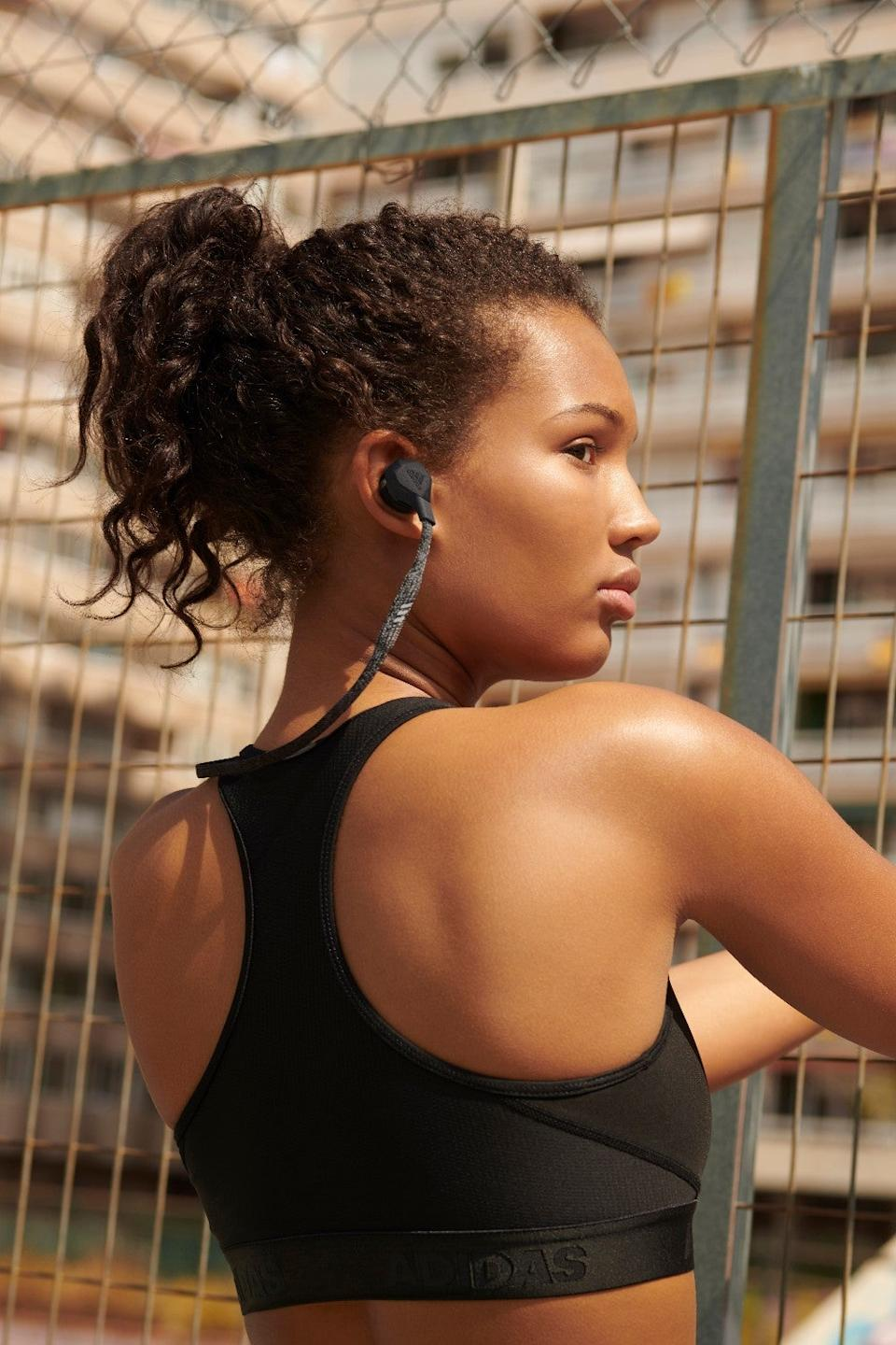 Adidas's new wireless headphones are designed to support your gym workouts (Adidas)